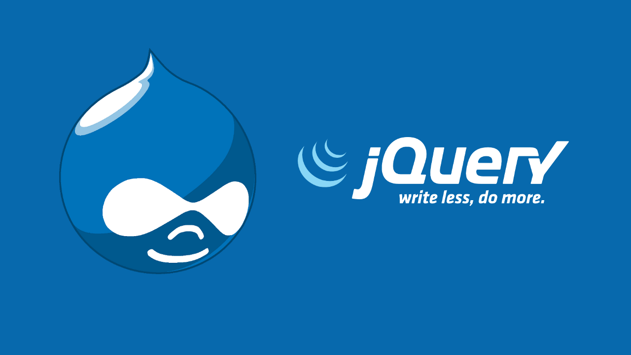drupal-and-jquery-logos