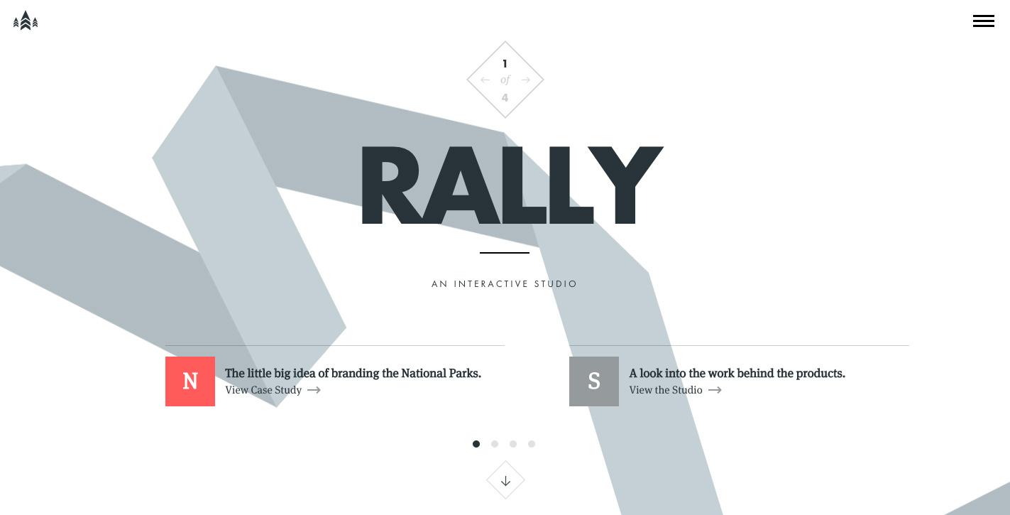 rally-interactive-website